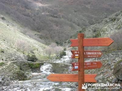 Los Pilones - Valle del Infierno en el  Valle del Jerte; senderismo sierra madrid